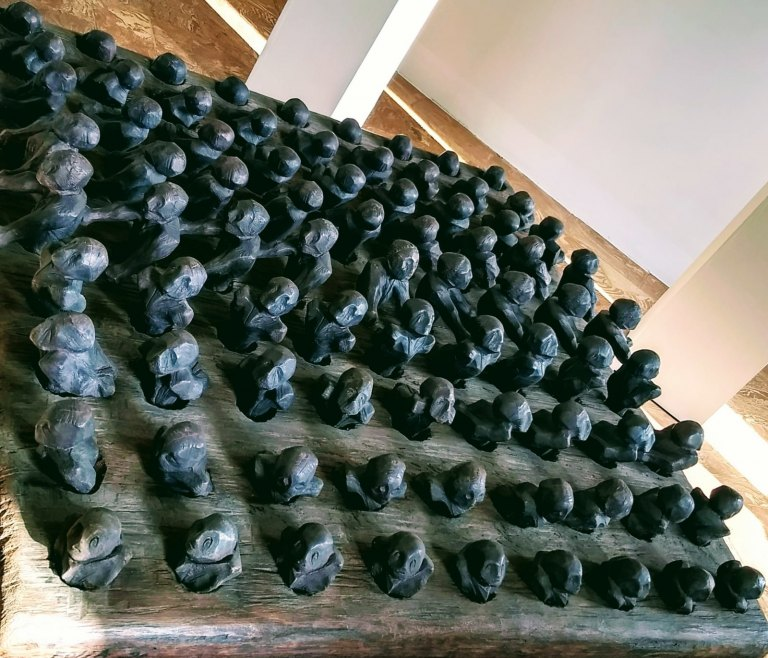 Il tormento in scultura di Franco Fossa