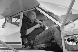 Guido Oldani da giovane avrebbe voluto fare l'aviatore