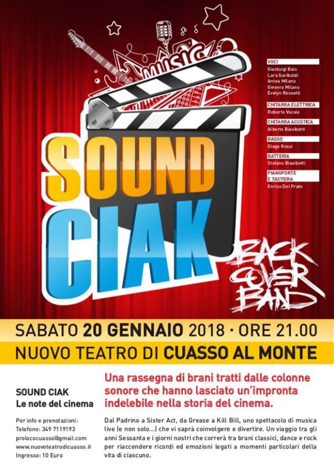 Sound Ciak: musica e cinema si incontrano al Teatro di Cuasso